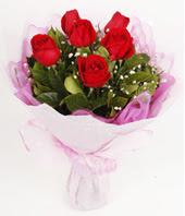 9 adet kaliteli görsel kirmizi gül  Siirt kaliteli taze ve ucuz çiçekler