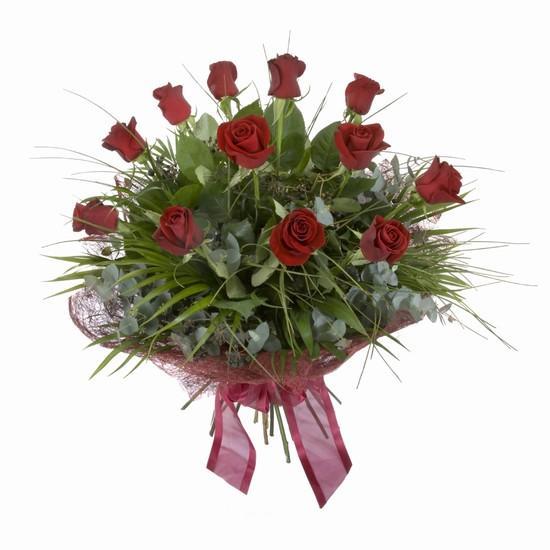 Etkileyici buket 11 adet kirmizi gül buketi  Siirt çiçek gönderme