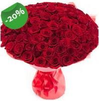 Özel mi Özel buket 101 adet kırmızı gül  Siirt çiçekçiler