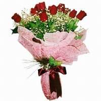 Siirt çiçek yolla  12 adet kirmizi kalite gül