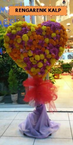 Ankara mevsim çiçeklerinden kalp perförje  Siirt güvenli kaliteli hızlı çiçek
