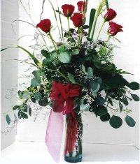 Siirt çiçek yolla  7 adet gül özel bir tanzim