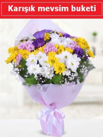 Karışık Kır Çiçeği Buketi  Siirt uluslararası çiçek gönderme
