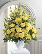 Siirt çiçek yolla  sari güllerden sebboy tanzim çiçek siparisi