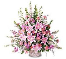 Siirt çiçek yolla  Tanzim mevsim çiçeklerinden çiçek modeli