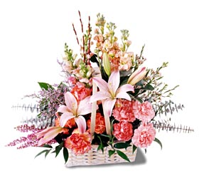 Siirt çiçek yolla  mevsim çiçekleri sepeti özel tanzim