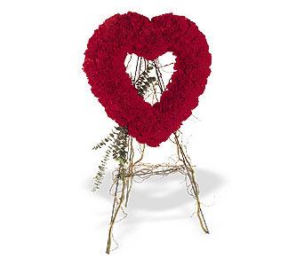Siirt çiçek gönderme  karanfillerden kalp pano