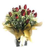 Siirt çiçek satışı  11 adet kirmizi gül  buketi