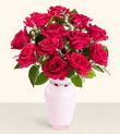 Siirt İnternetten çiçek siparişi  10 kirmizi gül cam yada mika vazo tanzim