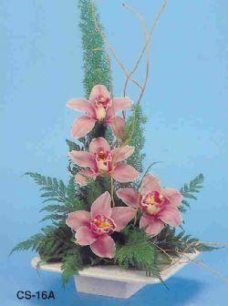 Siirt güvenli kaliteli hızlı çiçek  vazoda 4 adet orkide