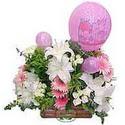 balon ve çiçeklerle tanzim  Siirt çiçek gönderme