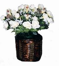 yapay karisik çiçek sepeti   Siirt hediye çiçek yolla