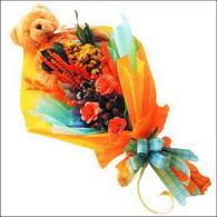 ayicik gül ve kir çiçekleri   Siirt çiçek gönderme sitemiz güvenlidir