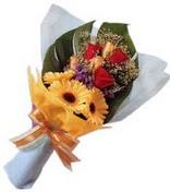 güller ve gerbera çiçekleri   Siirt çiçek servisi , çiçekçi adresleri