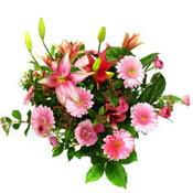 lilyum ve gerbera çiçekleri - çiçek seçimi -  Siirt kaliteli taze ve ucuz çiçekler