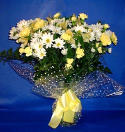 Siirt İnternetten çiçek siparişi  sade mevsim demeti buketi sade ve özel