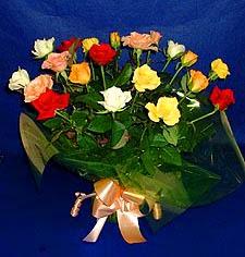 Siirt İnternetten çiçek siparişi  13 adet karisik renkli güller
