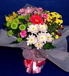 Siirt İnternetten çiçek siparişi  küçük karisik mevsim demeti