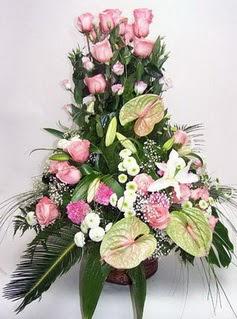 Siirt çiçek yolla , çiçek gönder , çiçekçi   özel üstü süper aranjman