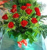 12 adet gül buketi  Siirt çiçekçiler