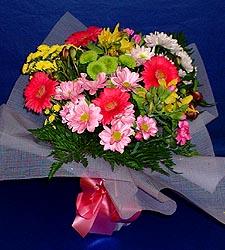 karisik sade mevsim demetligi   Siirt internetten çiçek satışı