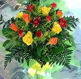 13 adet karisik gül buketi demeti   Siirt çiçek siparişi sitesi