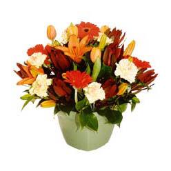 mevsim çiçeklerinden karma aranjman  Siirt hediye sevgilime hediye çiçek