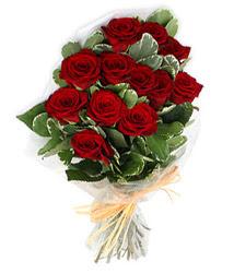 Siirt hediye sevgilime hediye çiçek  9 lu kirmizi gül buketi.