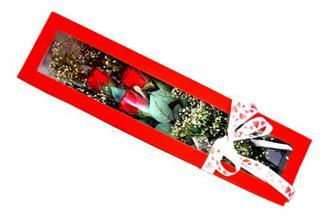 Siirt İnternetten çiçek siparişi  Kutuda 3 adet gül