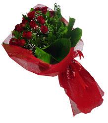Siirt çiçek servisi , çiçekçi adresleri  10 adet kirmizi gül demeti