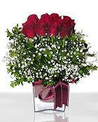 Siirt online çiçekçi , çiçek siparişi  11 adet gül mika yada cam - anneler günü seçimi -