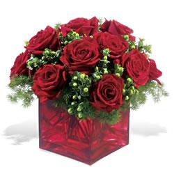 Siirt çiçek mağazası , çiçekçi adresleri  9 adet kirmizi gül cam yada mika vazoda