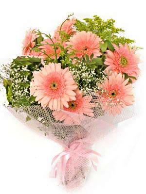 Siirt yurtiçi ve yurtdışı çiçek siparişi  11 adet gerbera çiçegi buketi