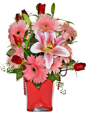 Siirt hediye çiçek yolla  karisik cam yada mika vazoda mevsim çiçekleri mevsim demeti