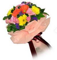 Siirt çiçek gönderme sitemiz güvenlidir  Karisik mevsim çiçeklerinden demet