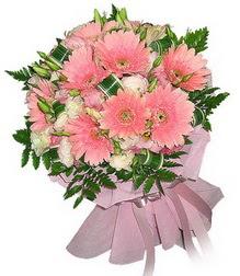 Siirt çiçekçi mağazası  Karisik mevsim çiçeklerinden demet