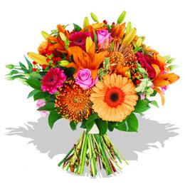Siirt güvenli kaliteli hızlı çiçek  Karisik kir çiçeklerinden görsel demet