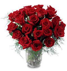 Siirt çiçek servisi , çiçekçi adresleri  11 adet kirmizi gül cam yada mika vazo içerisinde