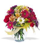 Siirt online çiçekçi , çiçek siparişi  cam yada mika vazo içerisinde karisik kir çiçekleri