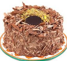 çikolatali 4 ile 6 kisilik yas pasta  Siirt online çiçek gönderme sipariş
