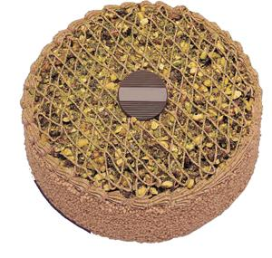 Krokanli 4 ile 6 kisilik yas pasta leziz  Siirt kaliteli taze ve ucuz çiçekler