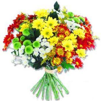 Kir çiçeklerinden buket modeli  Siirt ucuz çiçek gönder