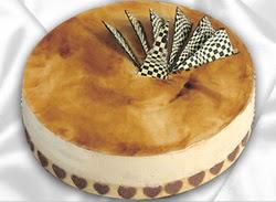 taze pasta 4 ile 6 kisilik yas pasta karamelli yaspasta  Siirt çiçekçi telefonları
