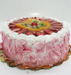 görsel pastacilar 4 ile 6 kisilik yas pasta karisik meyvali  Siirt çiçek siparişi vermek