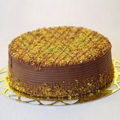 sanatsal pastaci 4 ile 6 kisilik krokan çikolatali yas pasta  Siirt hediye çiçek yolla