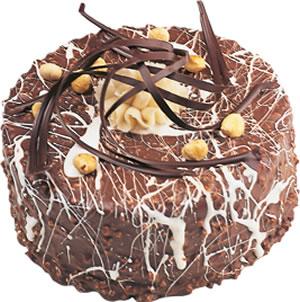 pasta satisi 4 ile 6 kisilik çikolatali yas pasta  Siirt çiçek online çiçek siparişi