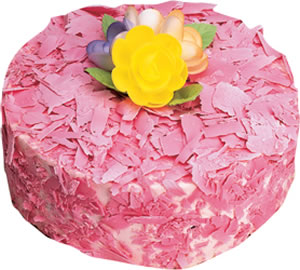 pasta siparisi 4 ile 6 kisilik framboazli yas pasta  Siirt çiçek mağazası , çiçekçi adresleri