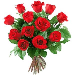 11 adet bakara kirmizi gül buketi  Siirt uluslararası çiçek gönderme