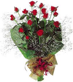11 adet kirmizi gül buketi özel hediyelik  Siirt çiçek gönderme sitemiz güvenlidir