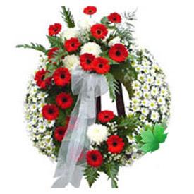 Cenaze çelengi cenaze çiçek modeli  Siirt çiçek siparişi sitesi